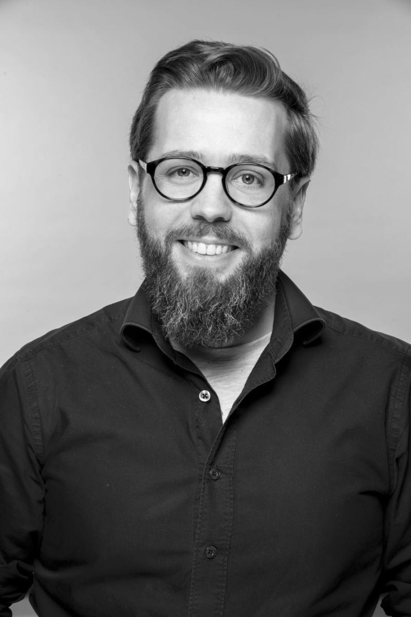 Florian Hillion noir et blanc
