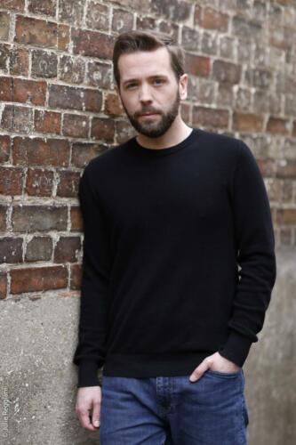 Portrait américain de l'acteur Florian Hillion