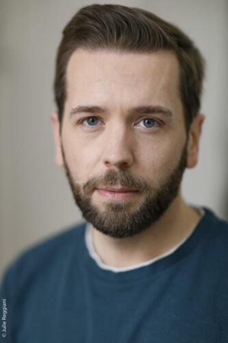 Portrait de l'acteur Florian Hillion